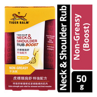Tiger Balm Neck & Shoulder Rub Boost - Non-Greasy