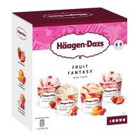 Haagen-Dazs Mini Cups Ice Cream - Fruit Fantasy