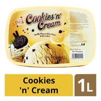King's Ice Cream - Cookies 'n' Cream