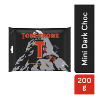 Toblerone Chocolate Minis Share Pack - Dark