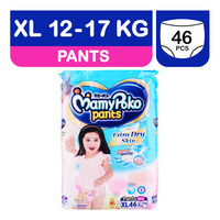 MamyPoko Girls Diaper Pants - XL (12 - 17kg)