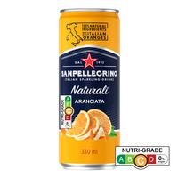 San Pellegrino Sparkling Can Drink - Aranciata