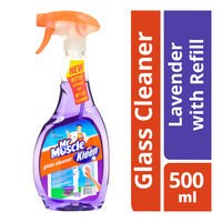Mr Muscle Glass Cleaner with Refill - Lavender