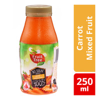 F&N Fruit Tree Fresh Bottle Juice - Carrot Mixed Fruit