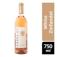 La Terre Rose Wine - White Zinfandel