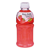 Mogu Mogu Juice Bottle Drink - Strawberry
