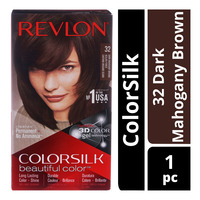 Revlon ColorSilk Hair Colour - 32 Dark Mahogany Brown