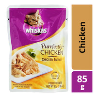 Whiskas Purrfectly Pouch Cat Food - Chicken