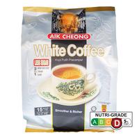 Aik Cheong 3 in 1 Instant White Coffee - Tarik (Less Sugar)