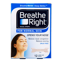 Breathe Right Nasal Strips - Normal Skin Tan (L)