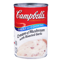 Campbell's Condensed Soup - Cream of Mushroom with Roasted Garlic