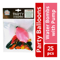 HomeProud Party Balloons - Water Bombs with Pump