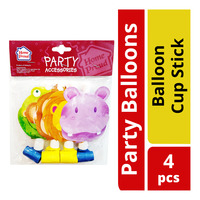 HomeProud Party Balloons - Balloon Cup Stick