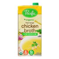 Pacific Organic Broth - Free Range Chicken (Low Sodium)