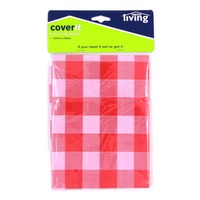 Home Living Plastic Tablecloth (137 x 228cm)