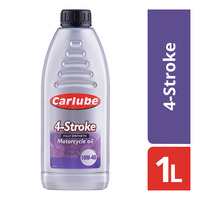 Carlube Fully Synthetic Motorcycle Oil - 4-Stroke