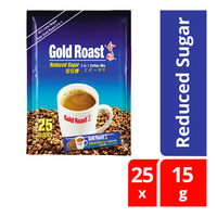 Gold Roast 3 in 1 Coffeemix - Reduced Sugar