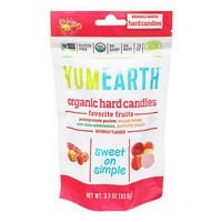 Yummy Earth Organics Hard Candies - Freshest Fruit (Assorted)