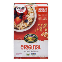 Nature's Path Organic Instant Oatmeal - Original (Hot)
