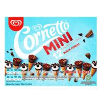 Cornetto Mini Ice Cream Cone - Cookies & Cream + Blackforest