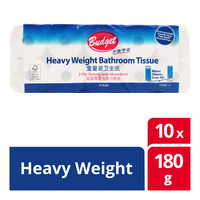Budget Bathroom Tissue - Heavy Weight