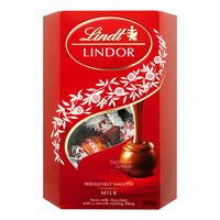 Lindt Lindor Cornet Chocolate Balls - Milk