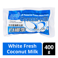 JJW White Fresh Coconut Milk