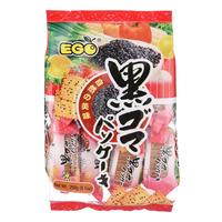 Ego Thin Vegetable Cracker - Black Sesame