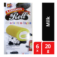 London Roll Cream Cake - Milk