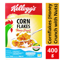 Kellogg's Cereal - Cornflakes (Honey Crunch with Nuts)