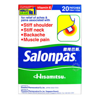 Salonpas Pain Relief Patch (6.5cm x 4.2cm)