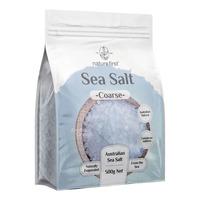 Nature First Sea Salt - Coarse