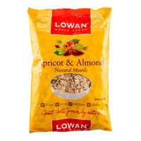 Lowan Natural Muesli - Apricot & Almond