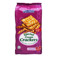 FairPrice Cream Crackers - Special