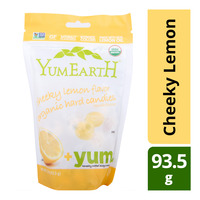 Yum Earth Organic Hard Candies - Cheeky Lemon