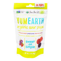 Yum Earth Organic Lollipops - Sour Pops