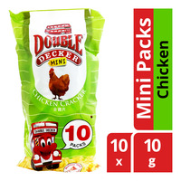 Double Decker Crackers - Chicken (Mini Packs)