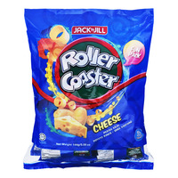 Jack 'n Jill Roller Coaster Potato Rings - Cheese