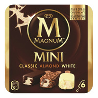 Magnum Mini Ice Cream - Classic, Almond & White
