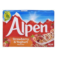 Alpen Cereal Bar - Strawberry & Yogurt