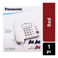 Panasonic Integrated Telephone System - Red