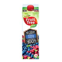 F&N Fruit Tree Fresh No Sugar Added Juice - Blueberry & Cranberry