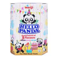 Meiji Hello Panda Biscuits - Assorted