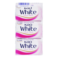 Kao White Soap Bar - Fresh Floral