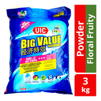 UIC Big Value Detergent Powder - Regular (Floral Fruity)