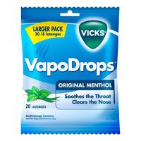 Vicks VapoDrops Lozenges - Original Menthol