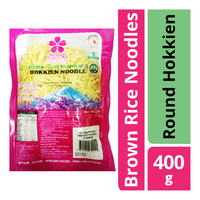 Sakura Brown Rice Noodles - Round Hokkien