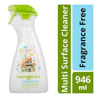 Babyganics Multi Surface Cleaner Spray - Fragrance Free