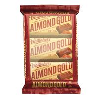 Whittaker's Milk Chocolate Bar - Almond Gold 3 x 45G