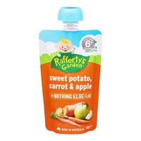 Rafferty's Garden Baby Food - Sweet Potato, Carrot & Apple
